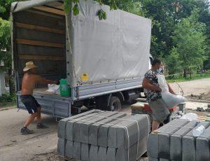Перевозка строительных материалов (Днепр) с ГрузОк