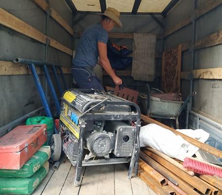 Заказать доставку и подъем стройматериалов в Днепре