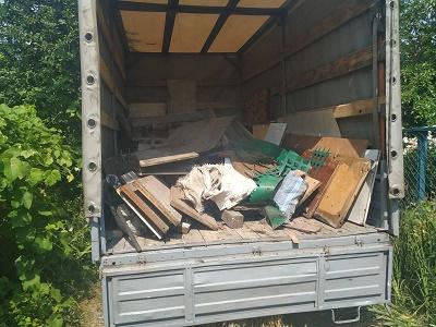 Вывоз строительного мусора (Днепр) тарифы ГрузОК