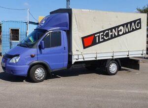 Транспортные перевозки грузов (Днепр) с ГрузОК
