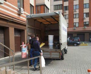 вывоз строительного мусора грузчики- Днепр с Вест-Транс