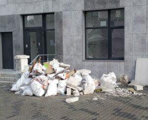 вынос и вывоз строительного мусора (Днепр) с компанией ГрузОК